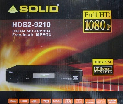Solid HDS2-9210 DVB-S2 / MPEG-4 Satellite Receiver