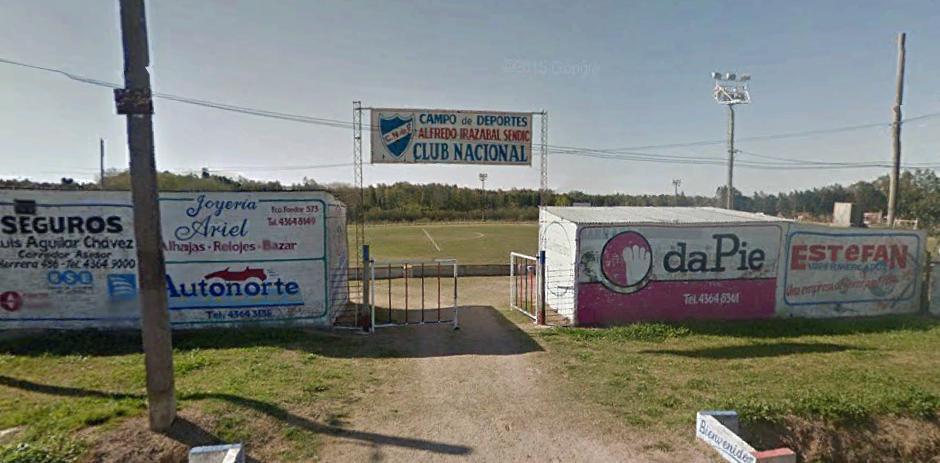 Estadios de Uruguay CLUB NACIONAL DE FUTBOL TRINIDAD