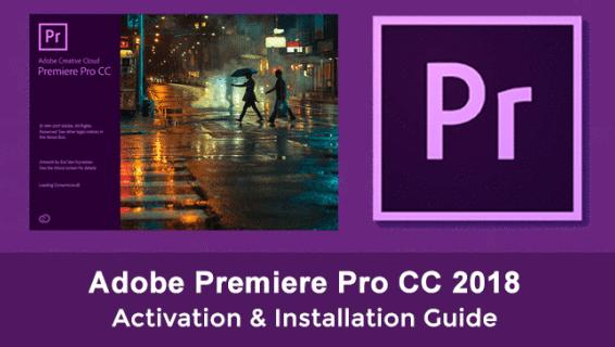 Adobe Premiere Pro CC 2018 Crack Mac Amtlib