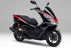 Honda PCX Special Edition Poseidon Black Metallic