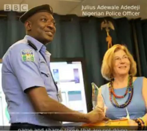 bbc honoured nigerian police officer