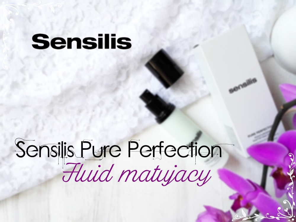 Fluid matujący od Sensilis- idealna baza pod makijaż?