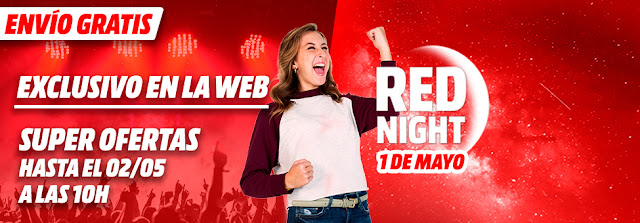 Mejores ofertas de la Red Night de Media Markt 30 abril de 2018