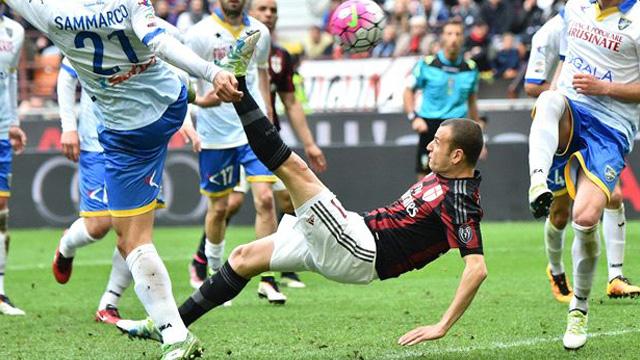 [Video] Cuplikan Gol AC Milan 3-3 Frosinone (Liga Italia)