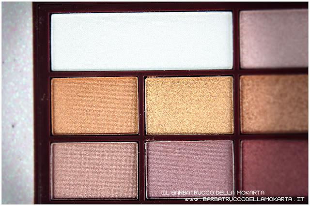 golden Bar makeup revolution palette choccolate pareri