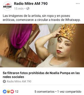 falsa informacion noelia pompa fotos prohibidas