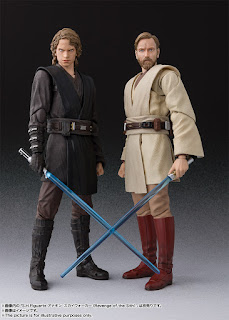 "S.H.Figuarts Obi-Wan Kenobi de ""Star Wars Episode III: Revenge of the Sith"" - Tamashii Nations"