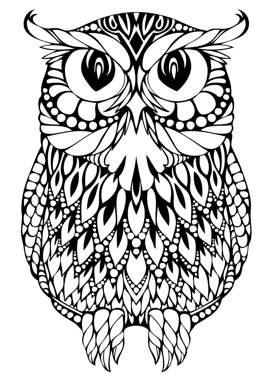 Serendipity Adult Coloring Pages Printable