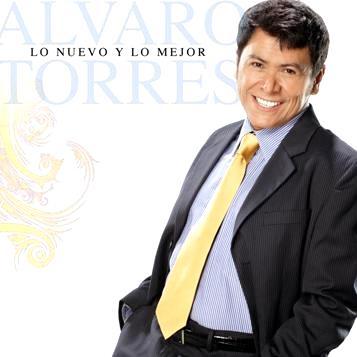 Foto de Álvaro Torres en portada de disco