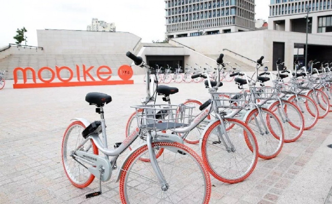 Tinuku Mobike and LINE unveiled bicycle-sharing service in Japan