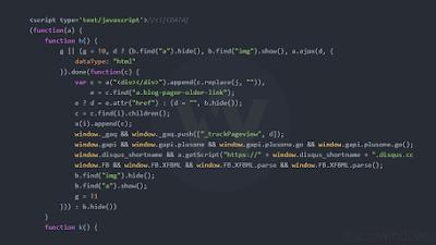 Tạo khung chứa code tuyệt đẹp và chuyên nghiệp cho Blogspot sử dụng Highlight Js