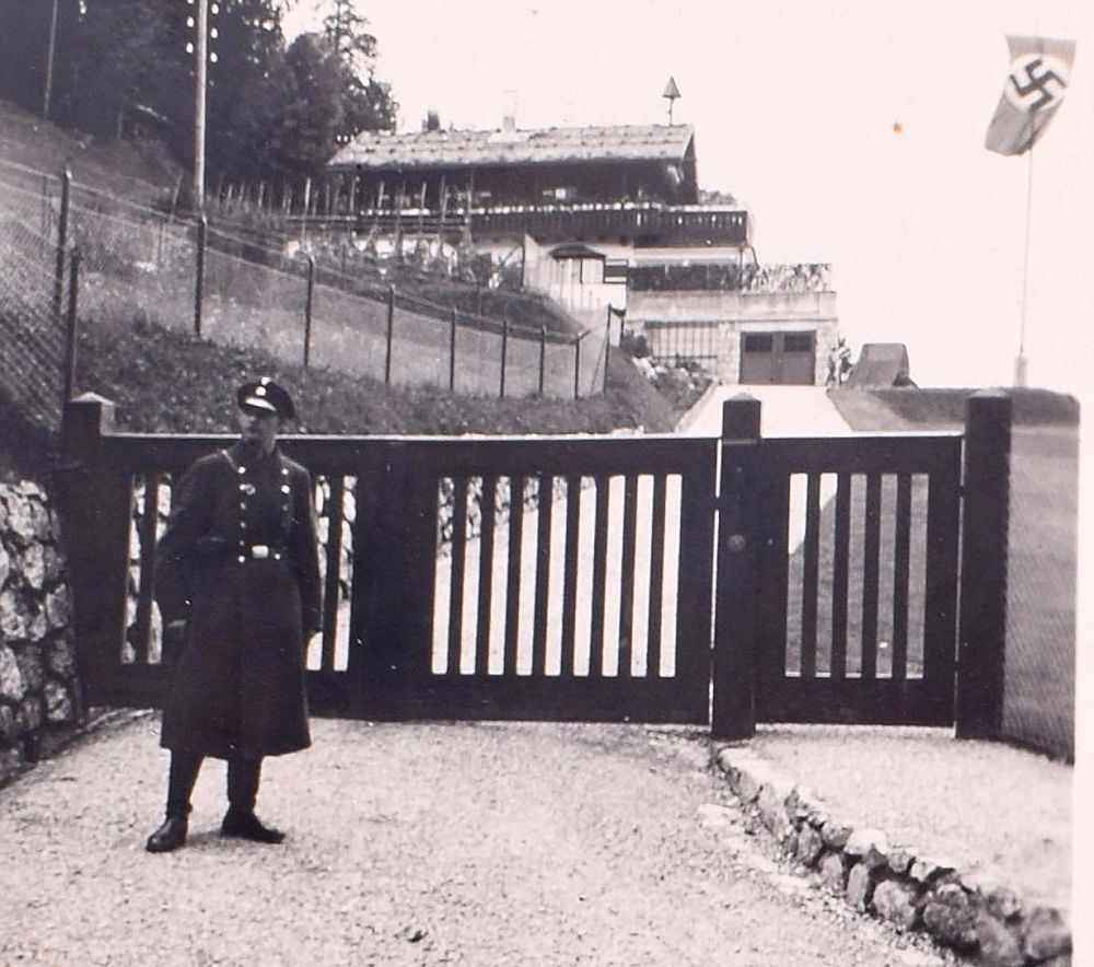 Swastika-Covered Photo Album Found In Eva Braun's Bedroom