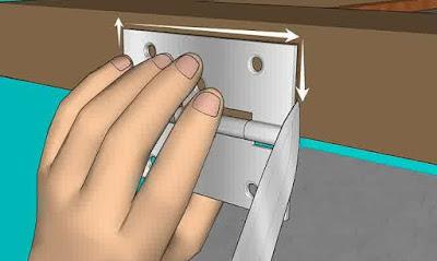 Cara Mudah Memasang Engsel Daun Pintu Kayu Jati 3