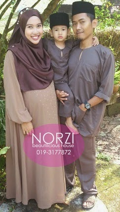 NBH0377 HAWANI JUBAH (MATERNITY FRIENDLY)