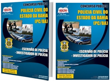Apostila Concurso Polícia Civil BA 2017