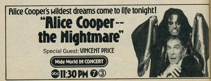 the sound of vincent price on this day in 1975 vincent price hosted alice cooper 39 s welcome. Black Bedroom Furniture Sets. Home Design Ideas
