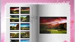 Slideshow (trình chiếu)  ảnh kiểu lật trang sách