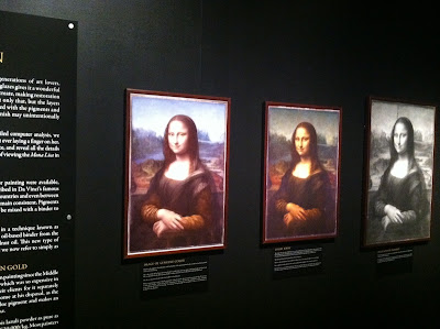 Genuine Colors of the Mona Lisa, Mona Lisa as it appears today, Infared Grey Mona Lisa