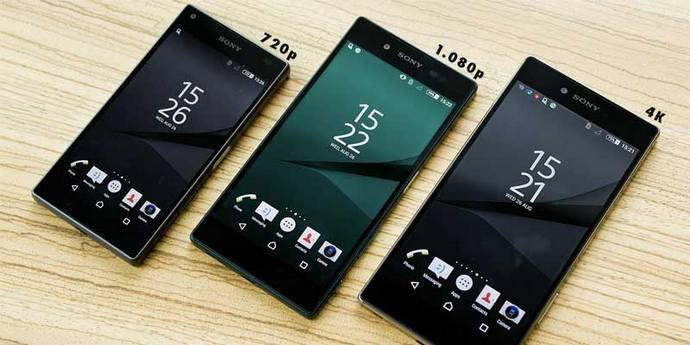 Resolusi Layar Smartphone