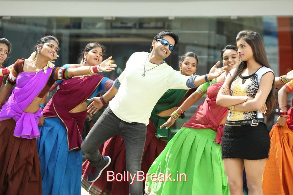Santhanam-Inimey Ippadithan Film Latest Stills, HOt Pics of Ashna Zaveri From Inimey Ippadithan Movie