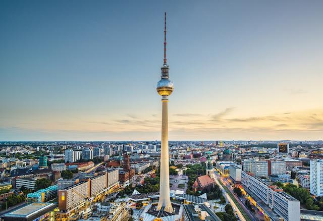 Torre de TV Berliner Fernsehturm