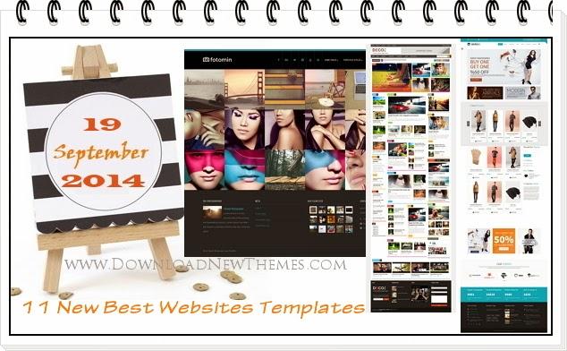 New Best Websites Templates
