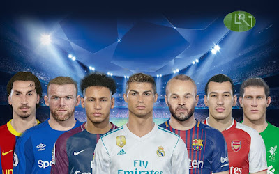 PES 2018 Facepack ver3 by LR7_Face