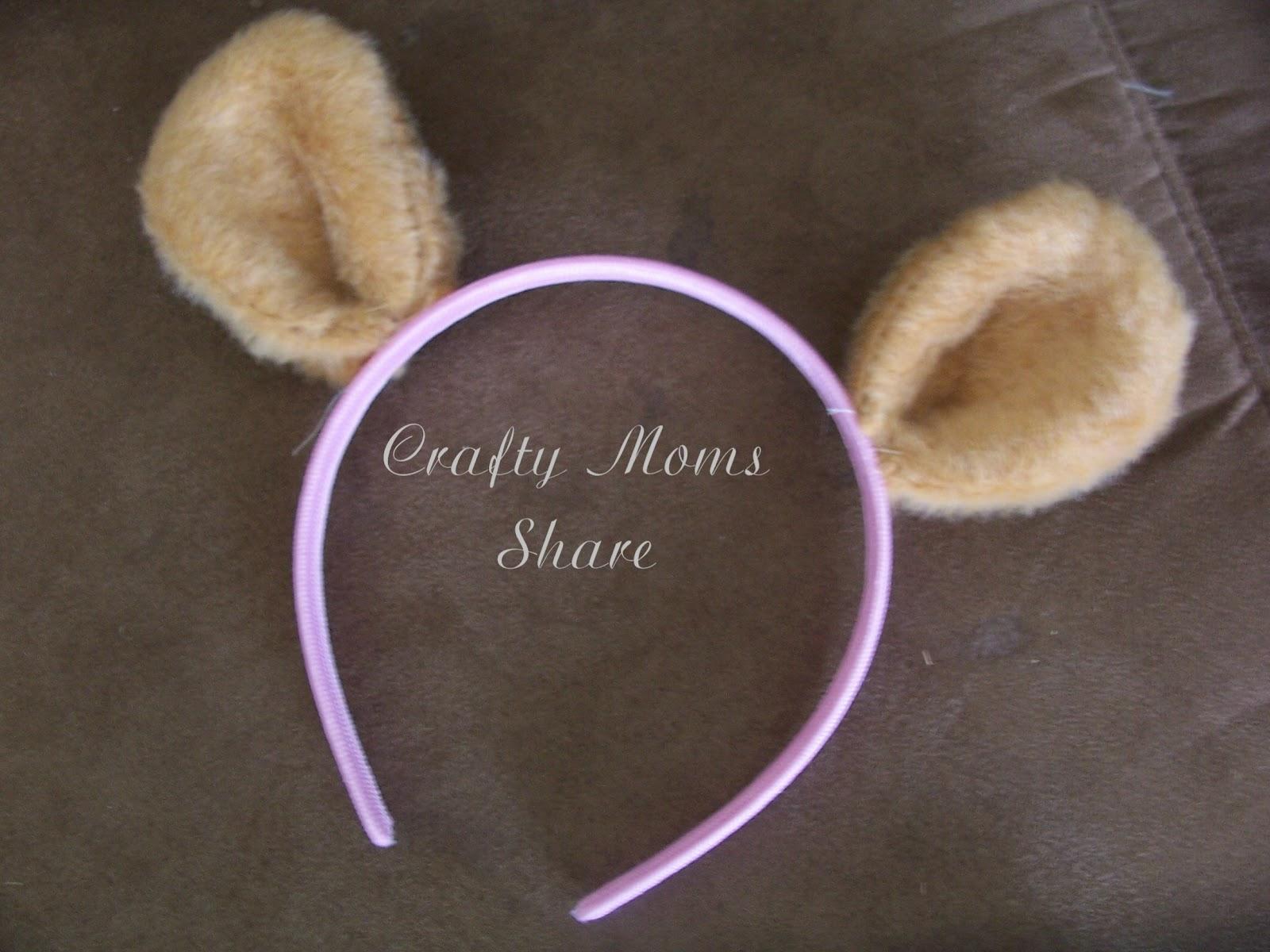 Crafty Moms Share Teddy Bear Ears Teddy Bear Picnic Preparation