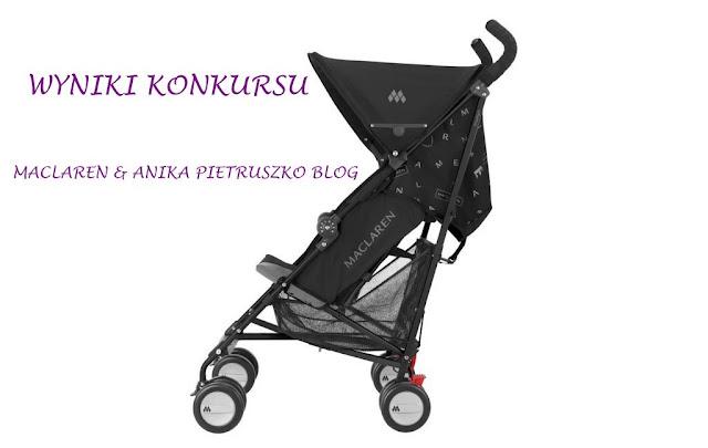 wyniki konkursu: prezenty #1 wygraj wózek od Maclarena
