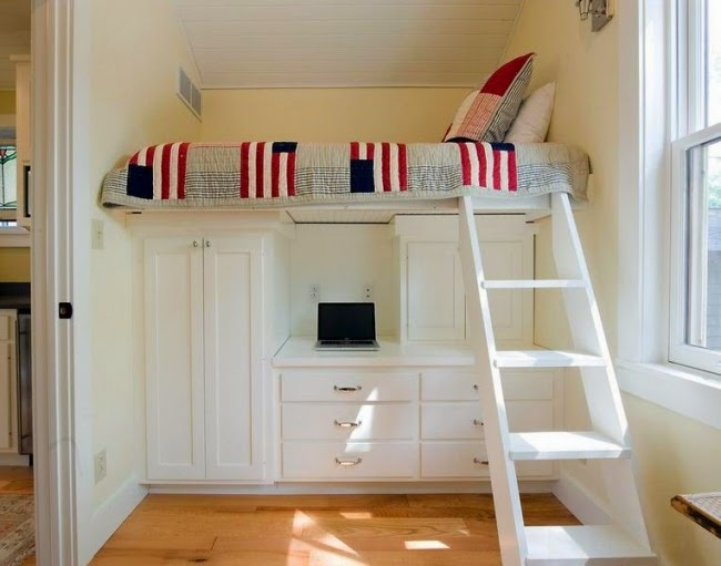 dormitorio juvenil altillo