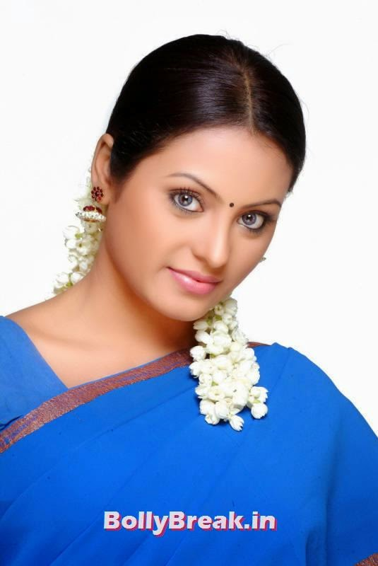 Meenakshi pics in blue - Film Actress, Actress Meenakshi hot Photoshoot Gallery in HD