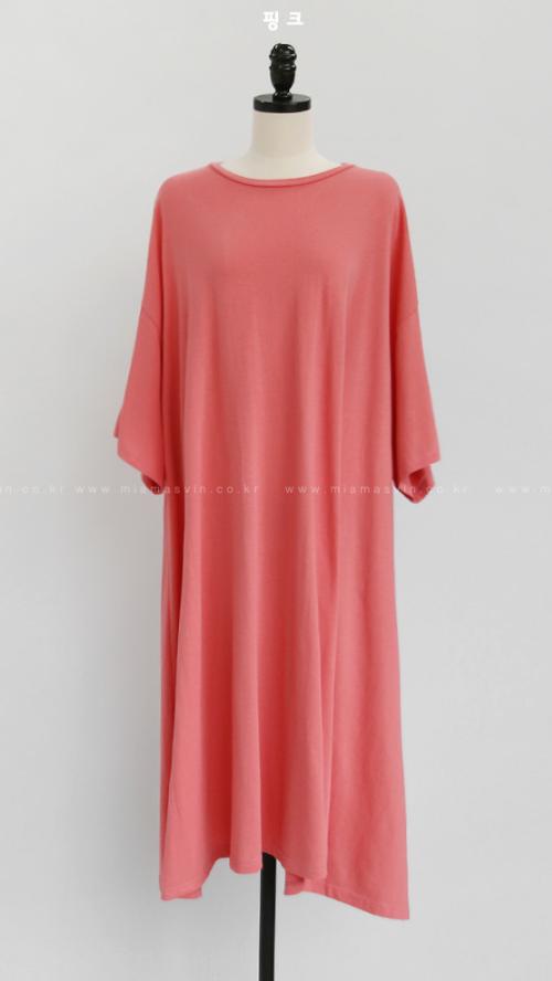 Loose Fit Long T-Shirt Dress