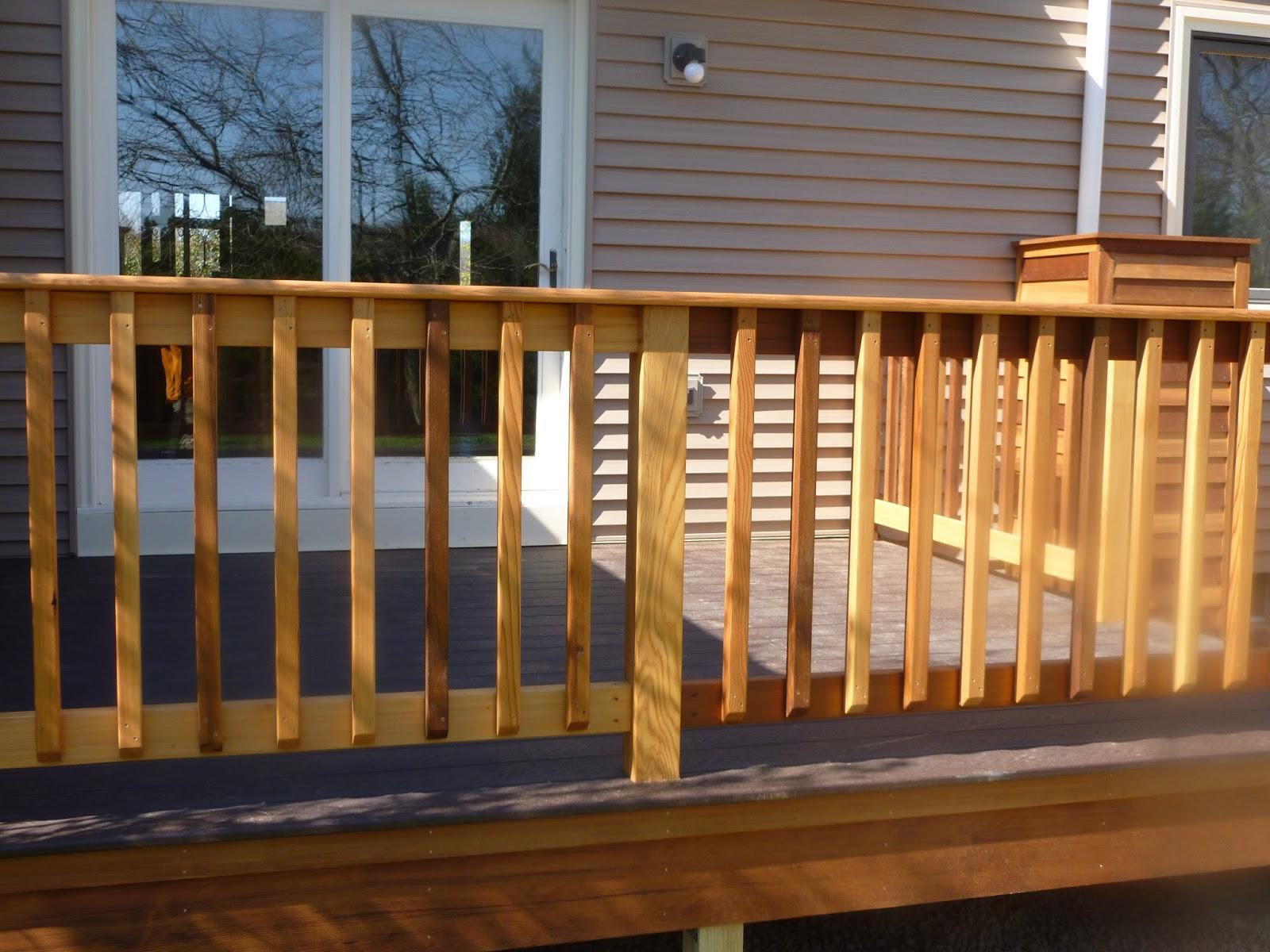 Jacob Leach Construction 802 275 8133 Renovations New | Pressure Treated Graspable Handrail