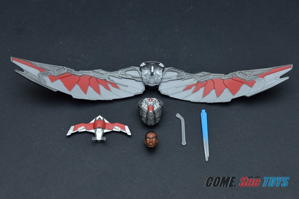 "Come, See Toys: Marvel Legends Series 3.75"" Flight Tech"