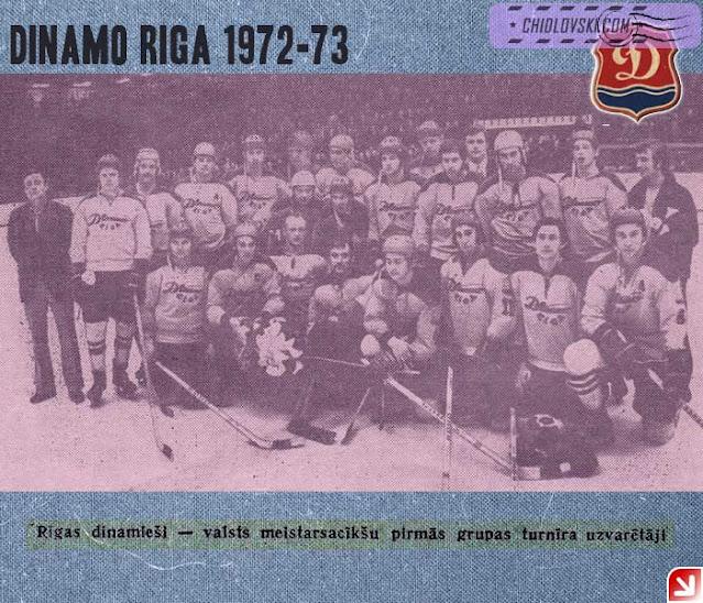 Динамо Рига 1972 состав команды