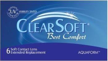27cfe9f630 Clear soft (Best Comfort) le brinda una forma saludable de usar lentes de  contacto durante todo el día y ocasionalmente dormirse con ellos.