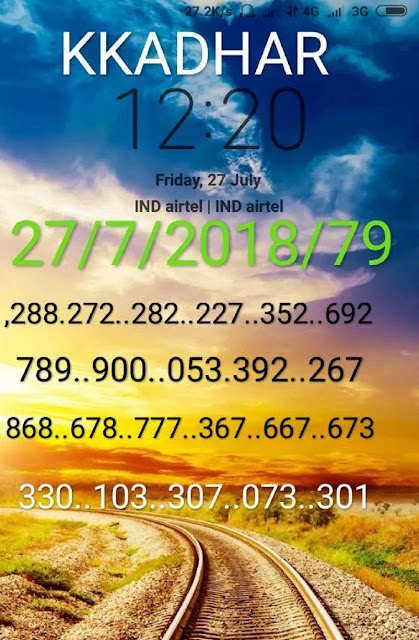 kerala lottery abc guessing nirmal nr-79 27-07-2018 by KK