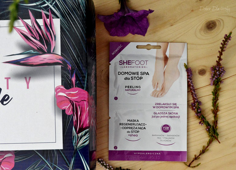 ShinyBox - SheFoot Domowe Spa Dla Stóp - Maska + Peeling