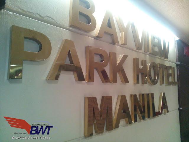 Bayview Park Hotel in Roxas Boulevard Manila