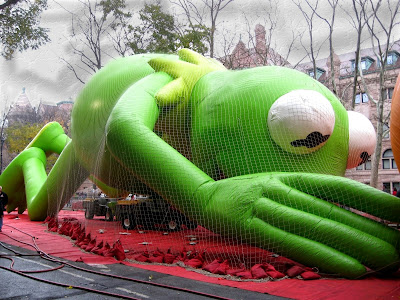 Macy's Thanksgiving Day Parade Clip Art Kermit the Frog