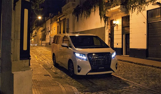 All New Alphard 3.5 Q Meja Lipat Kijang Innova Test Drive Toyota Mobil Kota