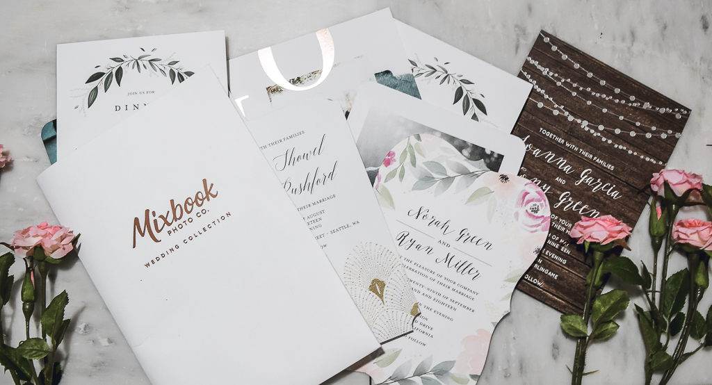 Mixbook Wedding Stationery