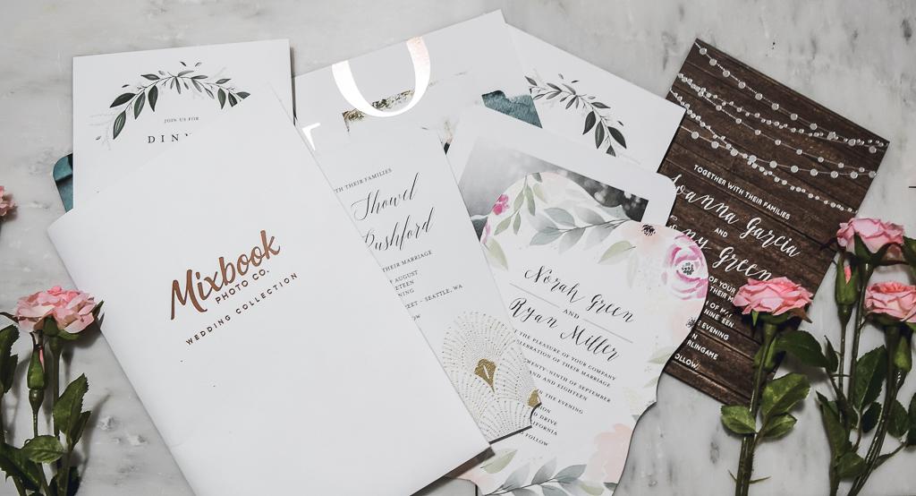 Mixbook Wedding Stationery