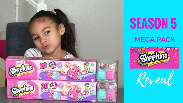 Shopkins Season 5 Mega Pack - 20 Shopkins, 8 Petkins Backpacks and 4 Blind Bags