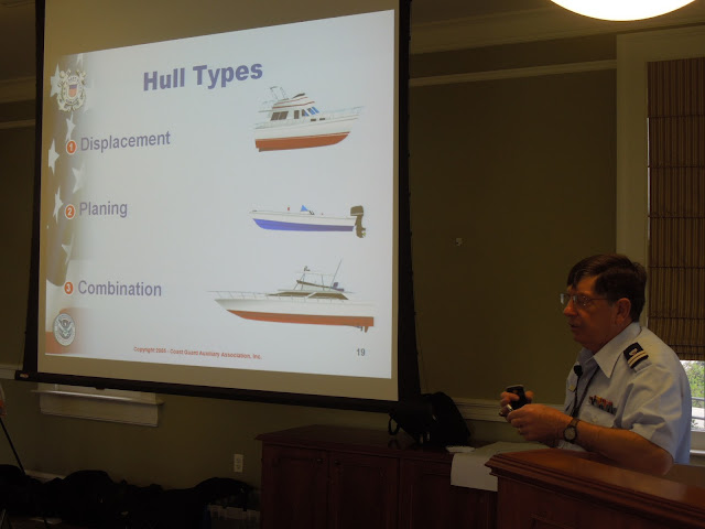 Chris Malazone talks about different hull shapes.