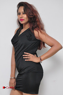 Model Sonia Pictures in Black Dress at Yes Mart Event 0003