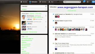 Interaksi Twitter segenggam harapan