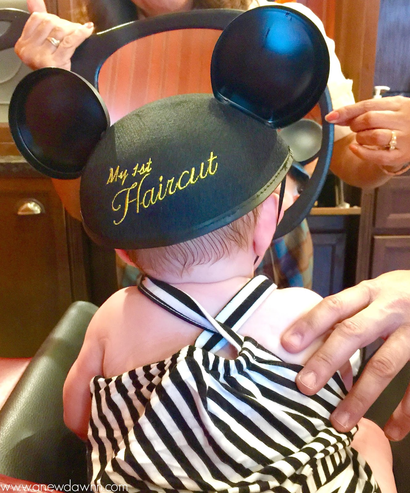 Babys 1st Haircut At Disneys Harmony Barber Shop Disneykids A