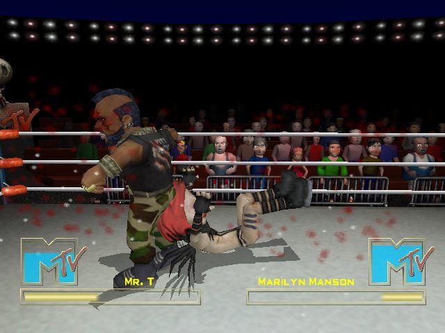MTV Celebrity Deathmatch Full Version PC GAME Screenshot 1