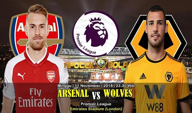 Prediksi Arsenal Vs Wolves 11 November 2018
